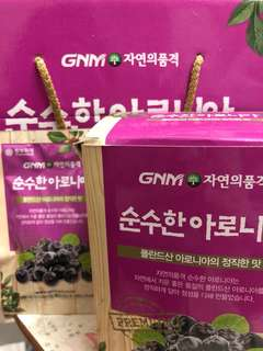 GNM野櫻莓汁 70ml