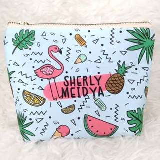 Custom Cosmetic Pouch with Name (Individual Order)