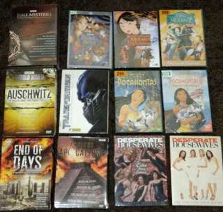 Original Sealed DVDs