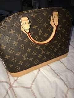 Louis Vuitton authentic Alma Pm Bag