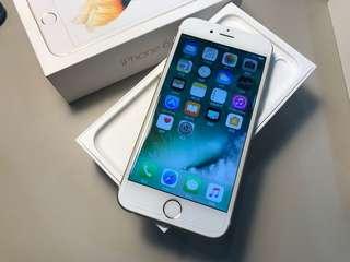 金色無傷iPhone6S 64G 4.7盒裝 高雄可面交