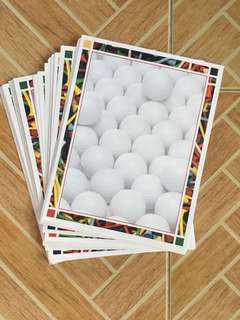 Golf Balls Stationery
