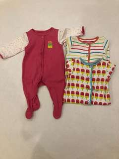 Mothercare- tinny baby size -new baby 3 in 1