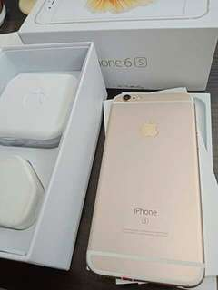 Iphone 6s.16gb warna gold original/asli