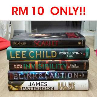 CLEARANCE SALE!! HARDCOVER BOOKS