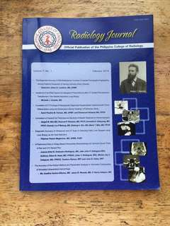 Philippine College of Radiology Radiology Journal
