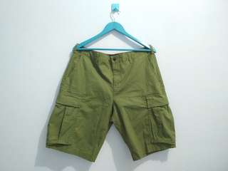 "Cargo Pant / Celana Cargo tag COUP ""Army Green"""