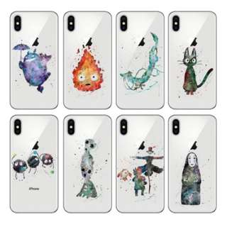 [FREE DELIVERY] (iPhone & Samsung) Studio Ghibli Phone Cases