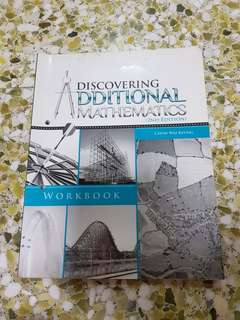 Discovering Additional Mathematics Workbook 2nd Edition