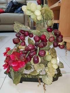 Grape plant display