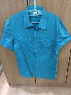 A/X Mens Short Sleeve Polo (Large)