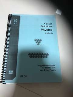 H2 A level solutions bank for physics