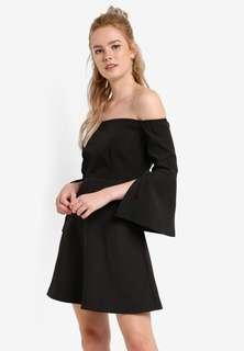 Black Dress ZALORA(Free Pos)