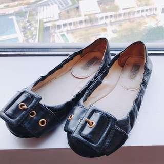 Authentic Prada black Ballet Flats