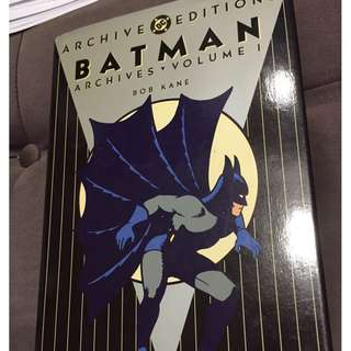 Archive Editions Batman Volume 1