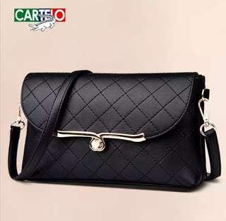 Cartelo Satchel Ma'am Korean Fashion Messenger Female Bag
