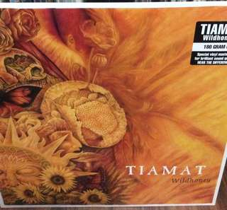 Mint sealed Tiamat wildhoney record vinyl cm reissue goth metal