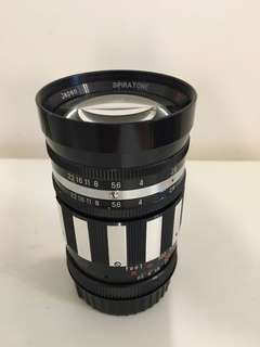 Spiratone 135mm f2.8 200g made in Japan Nikon mount (canon Nikon Sony others can also use)