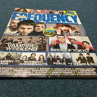 frequency poster magazine