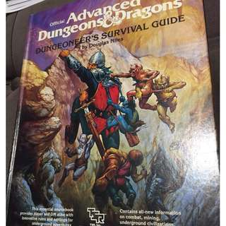 🚚 Official Advanced Dungeons & Dragons Dungeoneer's Survival Guide