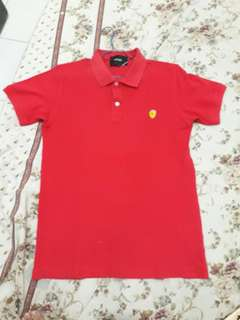 Polo T-Shirt Ferrari (M) ORIGINAL