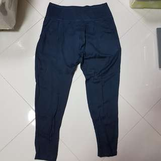 Blue Jogger-style Pants from Topshop