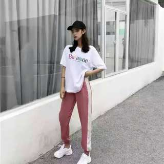 (PO) Dirty Pink Track Pants