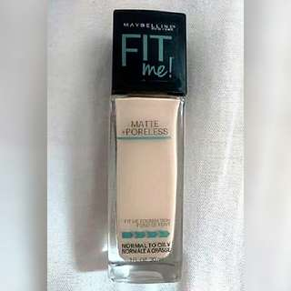 (Authentic) Fit Me Foundation
