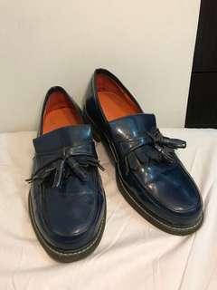 Tassel Loafers Navy Blue (US MEN 10)