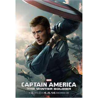 Captain america winter soldier posters