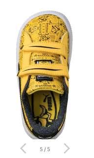 Minion PUMA kids shoe