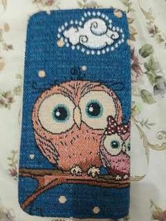 New! Dompet Bahan Burung Hantu Asli Dari Singapur!