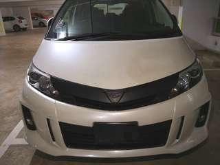 Plasti dip your mpv 🚐 Plastidip Toyota Estima (Dechrome)