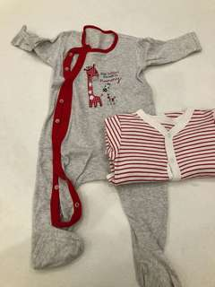 Mothercare pyjamas 6-9 month