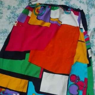 Geometric-patterned Skirt