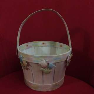 New Wooden Basket