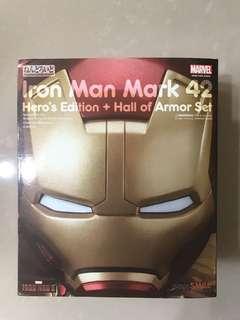 [Ironman survived Infinity War PROMO] Nendoroid Iron Man mark 42: Hero's Edition + Hall of Armor Set
