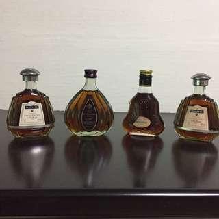 Vintage Miniatures Liquor Collection