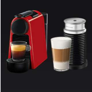BNIB Nespresso Essenza with milk frother