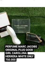 [PROMO] PARFUME Marc Jacobs + Good Girl Carolina Herrera White