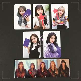 WJSN - 'DREAM YOUR DREAM' Official Photocard & Bookmark