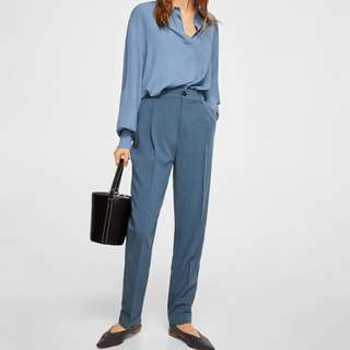 F21 contemporary suit pleated trouser