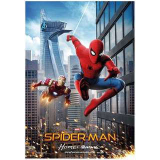 Spiderman home coming full size posters