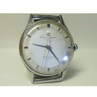 1958s'  C mark  Citizen Junior 15-J Para Shock Phynox vintage watch....