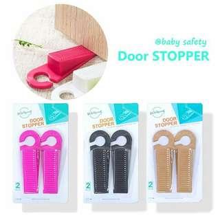 2 in 1 safety door stopper
