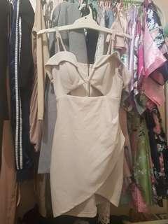 Off shoulder with straps dress