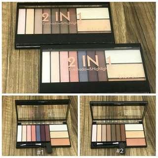 DoDo Girl Eyeshadow and Highlighter Palette