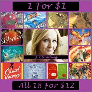 J.K. Rowling eBooks