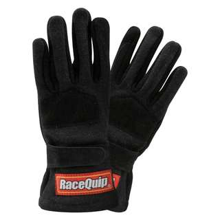 IN STOCK RaceQuip 355002 355 Series SIZE SMALL ONLY Black SFI FIA 3.3/5 Two Layer Racing Gloves Race Quip Automotive Racing Go Kart Go Karting Gloves Suede Leather Racing Gloves Motor Racing Gloves