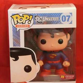 Funko Pop DC Previews Exclusive Superman
